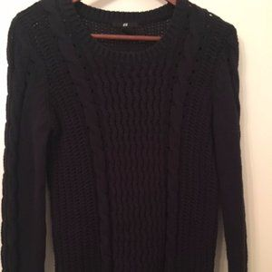H&M Cable knit sweater, size Small